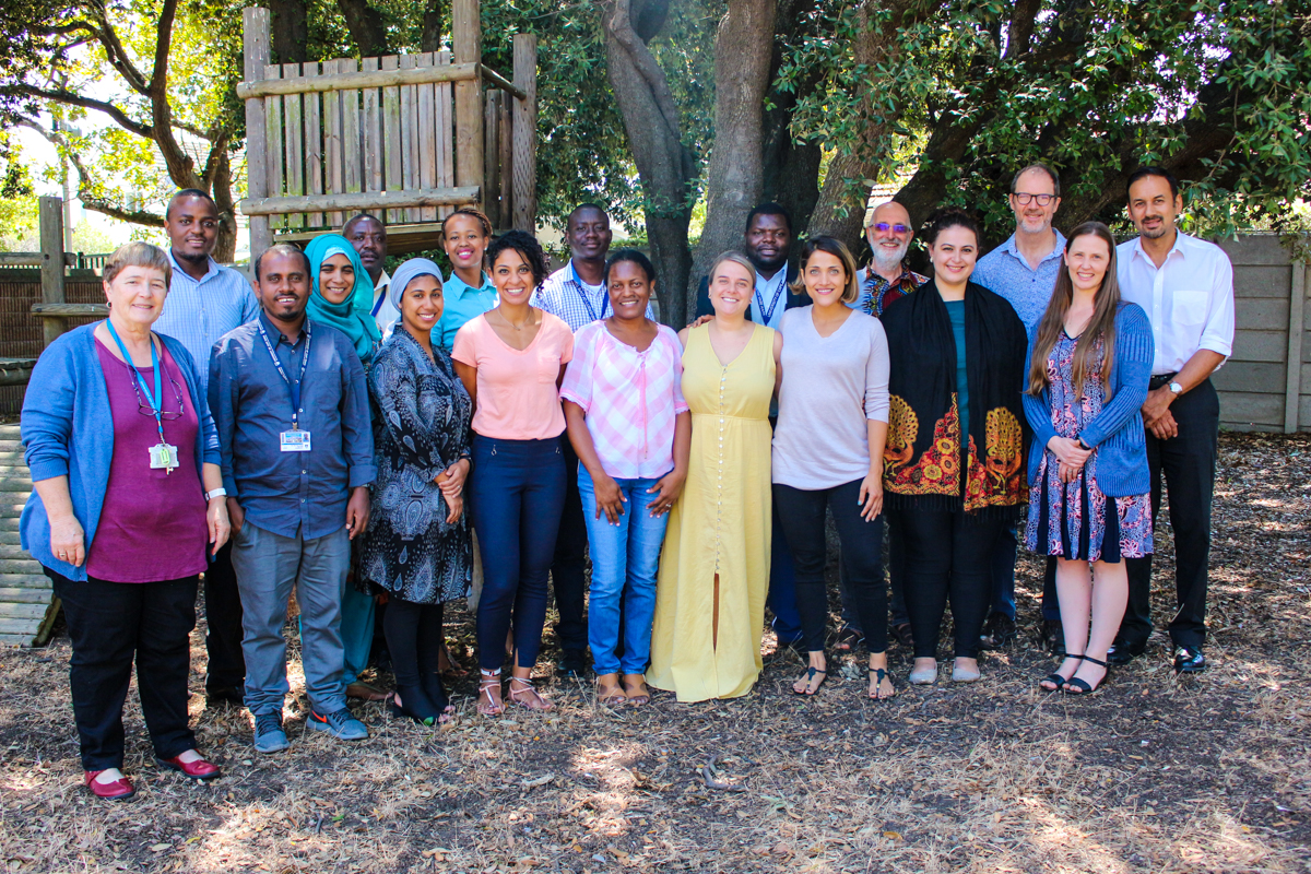 The 2019 MPhil group and their study advisors