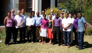 MPhil group & supervisors of 2012
